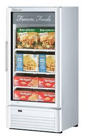 glass door merchandising freezer