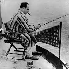 term paper on al capone  image of al capone fishing at miami beach