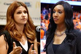 Nichols ' main gig is hosting the nba show the jump. Espn S Rachel Nichols Apologizes To Maria Taylor After Comments People Com