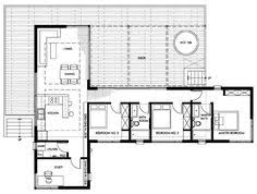 >contemporary style house plan 3 beds 2 5 baths 2180 sq ft plan  a desert house that soaks up the view nevada desertdesert homeshome floor planscontainer