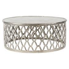 ashbury coffee table raw nickel living urban barn polished 140314