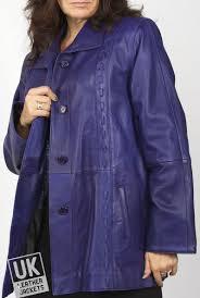 y leather leather jackets jacket las purple xl coat aurora sizes 10 12 14 20 6w155