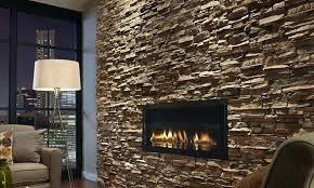 es stacked stone castaway int night after detail a studio fireplace dry stack installation