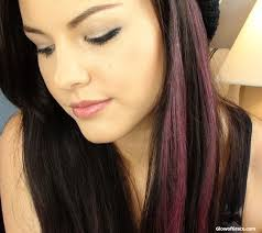 pretty little liars aria hair chalking tutorial for back to
