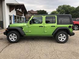 new 2018 jeep wrangler 4 door unlimited sport