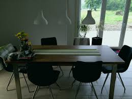 Holz Tisch Leuchte Leuchte Esstisch Beleuchtung Elegant Cool