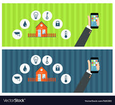 Smart Signs And Designs Smart House Concept With Signs