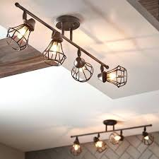 kitchen track lighting ideas. Charming Track Lighting Ideas Kitchen Shop Bronze Standard Fixed Light Kit At Find Our Selection