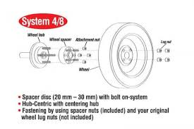 Eibach Pro Spacer Kit 25mm Spacer 5x100 Bolt Pattern 56 0 Hub For 93 11 Subaru Impreza Wrx Exc Sti