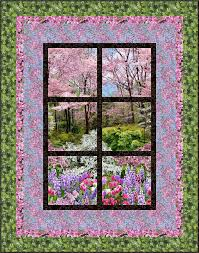 Outside My Window | Quilting and Quilting Tips | Pinterest ... & Botanic Garden – Outside My Window Project created on July 2014 Dimensions:  x Quilt by Kathryn Wilson Tucker, Next Step Quilt Designs Adamdwight.com