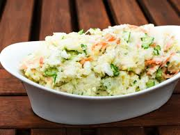 anese potato salad with cubers carrots and red onion recipe