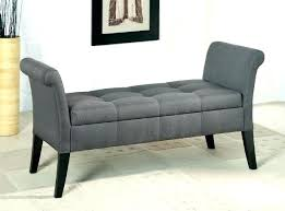 Purple Storage Bench Benches Medium Size Of Tufted End  Upholstered   Sofa With13