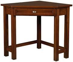 awesome oak corner laptop desk simple brown corner desk solano corner desk in um oak wooden