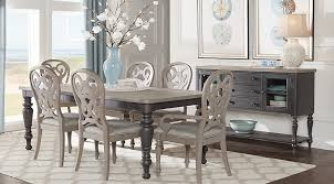 coastal dining room. Cindy Crawford Home Coastal Breeze Charcoal 5 Pc Rectangle Dining Room - Sets Colors