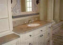 lagos blue honed limestone vanity tops