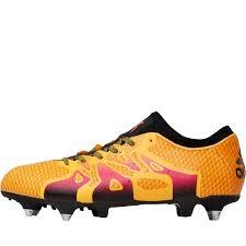 mens adidas football boots pink black gold x 15 primeknit sg solar shock core ing