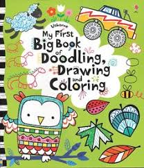 my first big book of doodling drawing and coloring