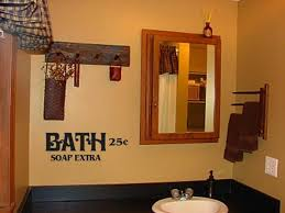 bathroom wall decorating ideas. marvelous primitive bathroom decor clearly on outhouse office and bedroom elegant intended for property plan wall decorating ideas
