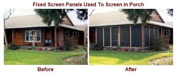 patio enclosures mobile screens etc