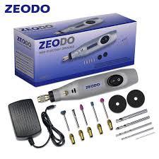 <b>Zeodo</b> ZD6000 <b>Mini DIY</b> Electric grinder Drill Grinding Set Power ...