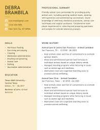 Create the best version of your quality control resume. Dog Trainer Resume Examples Jobhero