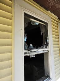 diy broken window glass diy