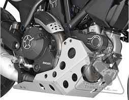 givi rp7407 aluminum engine guard skid plate for ducati scrambler