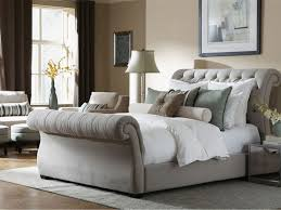 tufted upholstered sleigh bed. Delighful Upholstered Nice Tufted Sleigh Bed King With Upholstered Home Design  Ideas Intended N