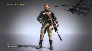 leather jacket showcase metal gear solid v the phantom pain