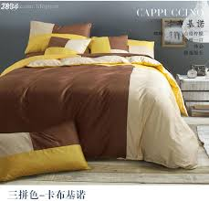 whole designer bedding sets solid mixed color bed set bedding bedding set brown yellow cotton bed linens white bedspread2834 navy blue duvet cover queen