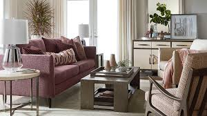 living spaces we love room scene sofa