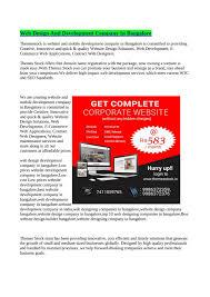 Design Theme Bangalore Best Cheap Web Design Company In Bangalore By Themesstock