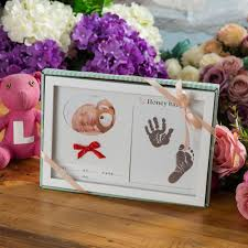 2019 creative photo frame baby handprint footprint hair picture frames home decor anniversary gift picture frame wedding photo from paa 49 91 dhgate