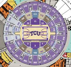 University Of Texas Basketball Seating Chart Tcu Basketball Arena Seating Capacity News Today