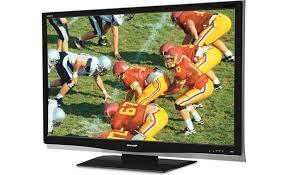 sharp tv canada. sharp lc-46d64u front tv canada