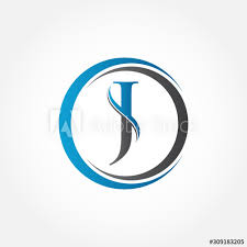 Save your logo on the website, our servers are always available and you will be able to find your logo and use it all over the. Circle Letter J Logo With Creative Modern Business Typography Vector Template Creative Abstract Letter J Logo Vector J Logo Design Buy This Stock Vector And Explore Similar Vectors At Adobe Stock