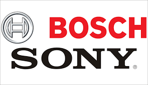 bosch security logo. bosch security systems and sony establish video partnership logo
