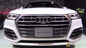 2018 audi q5 exterior and interior walkaround 2017 montreal