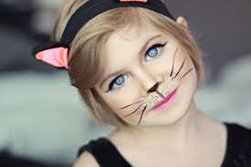 inspired cat ear beanie knitting pattern and makeup tutorial of kitty costume