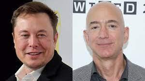 Amazon's Jeff Bezos surpasses $200 billion net worth, topping Tesla's Musk