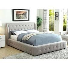 upholstered bed grey. Costco Upholstered Bed Grey Pulaski King .