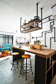 Small Picture House Tour A designers rustic industrial HDB home Home Decor