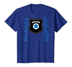 These individuals use the alphabet to ensure clear. Amazon Com Police Phonetic Alphabet Police Officer Training Tool T Shirt Clothing