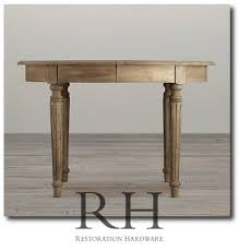 restoration hardware s french oval table