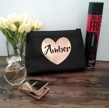 large makeup bag personalised makeup bag bride gift personalised wedding bag bridal bling australia madeit au