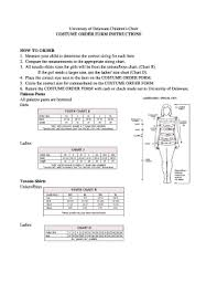 Costume Measurement Sheet Template Measurement Sheet For Costumes On Line Fill Online