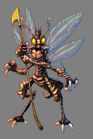 Image result for fantasy insect creature with gun