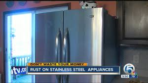 The Best Way To Clean Stainless Steel Appliances Rust On Stainless Steel Appliances Youtube