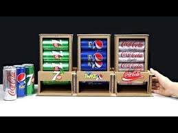 Youtube Vending Machine Cool How To Make PEPSI VENDING MACHINE From Cardboard YouTube Hệ