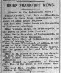Etta Hickman Hosts Visitor, 4 Jul 1903 - Newspapers.com
